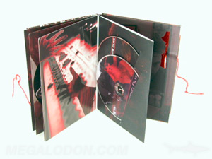 cd book packaging silver foil